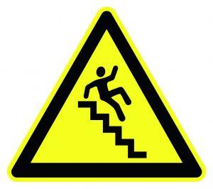 vorsicht Treppe